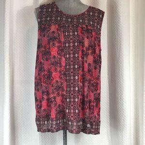 Cato sleeveless blouse. Size 14-16W